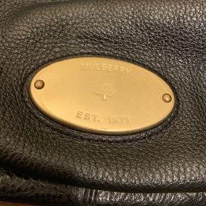 Mulberry Bags - Mulberry Black Leather Shoulder Bag Satchel